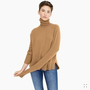 J. Crew Sweater With Side Slits In Supersoft Yarn